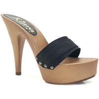 Chaussures Femme Mules Kiara Shoes K9301 Noir