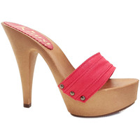 Chaussures Femme Mules Kiara Shoes K9301 Rouge