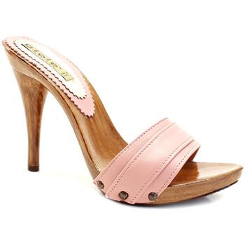 Chaussures Femme Mules Gioie Italiane M710 Rose