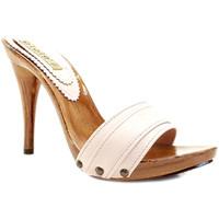 Chaussures Femme Mules Gioie Italiane M710 Poudre