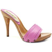 Chaussures Femme Mules Gioie Italiane M710 Fuxia