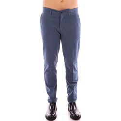 Vêtements Homme Chinos / Carrots Harmont & Blaine CHINOS NARROW FUSTAGNO Bleu aviation