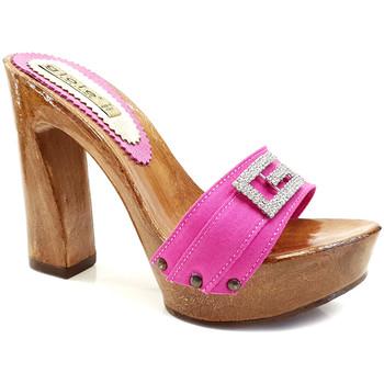 Chaussures Femme Mules Gioie Italiane G8105 Fuxia