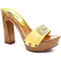 Chaussures Femme Mules Gioie Italiane G8105 Jaune