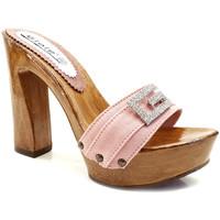 Chaussures Femme Mules Gioie Italiane G8105 Rose