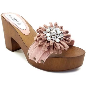 Chaussures Femme Mules Gioie Italiane G55018 Rose