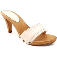 Chaussures Femme Mules Kiara Shoes K6301 Poudre