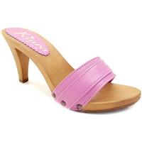 Chaussures Femme Mules Kiara Shoes K6301 Fuxia