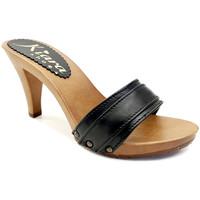 Chaussures Femme Mules Kiara Shoes K6301 Noir