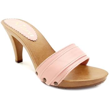 Chaussures Femme Mules Kiara Shoes K6301 Rose