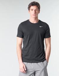 Vêtements Homme T-shirts manches courtes Nike M NK DRY TEE DFC CREW SOLID Noir / Blanc