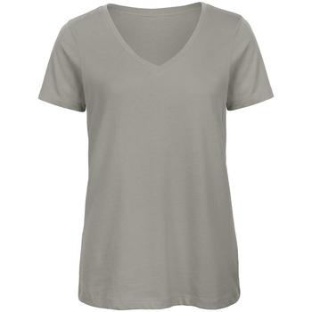 Vêtements Femme T-shirts manches courtes B And C Organic Gris clair