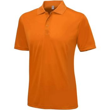 Vêtements Homme Polos manches courtes Awdis Smooth Orange pressée