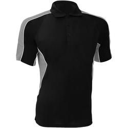 Vêtements Homme Polos manches courtes Gamegear Active Noir/Gris