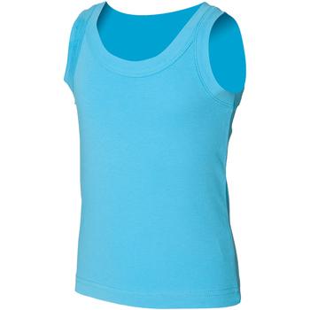 Vêtements Enfant Débardeurs / T-shirts sans manche Skinni Fit SM016 Bleu surf