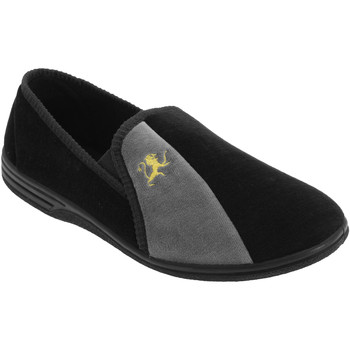 Chaussures Homme Chaussons Zedzzz Aaron Noir/Gris