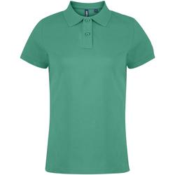 Vêtements Femme Polos manches courtes Toutes les chaussures femme  Vert tendre