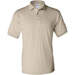 Vêtements Homme Polos manches courtes Gildan Jersey Beige