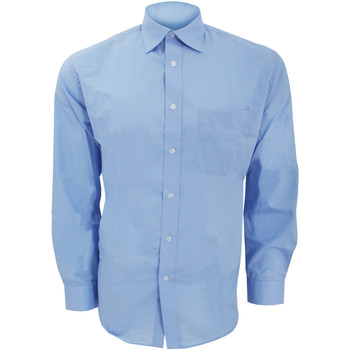 Vêtements Homme Chemises manches longues Kustom Kit KK104 Bleu clair