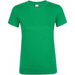 Vêtements Femme T-shirts manches courtes Sols Regent Vert tendre