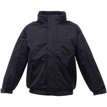 Vêtements Enfant Coupes vent Regatta Dover Noir/ Gris