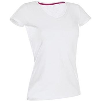 Vêtements Femme T-shirts manches courtes Stedman Stars Claire Blanc