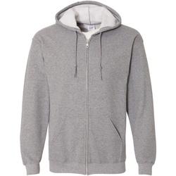 Vêtements Homme Sweats Gildan Hooded Gris foncé