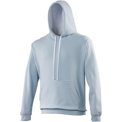 Vêtements Sweats Awdis Hooded Bleu ciel / blanc