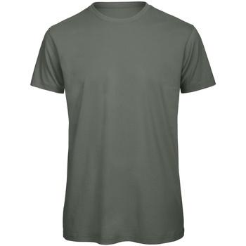 Vêtements Homme T-shirts manches courtes B And C Organic Vert foncé