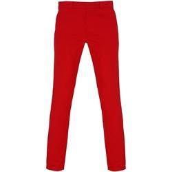 Vêtements Femme Chinos / Carrots Toutes les chaussures femme Chino Rouge