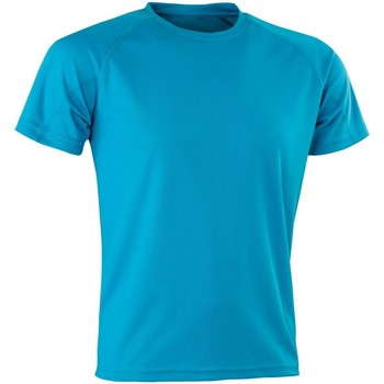 Vêtements Homme T-shirts manches courtes Spiro Aircool Turquoise