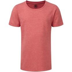 Vêtements Fille T-shirts manches courtes Russell Tshirt à manches courtes Fille Rouge