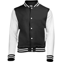 Vêtements Enfant Blousons Awdis Varsity Noir/Blanc