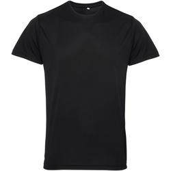 Vêtements Homme T-shirts manches courtes Tridri TR010 Noir