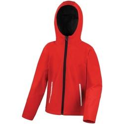 Vêtements Enfant Coupes vent Result Core Rouge/Noir