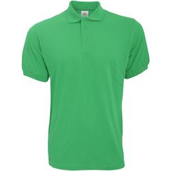 Vêtements Homme Polos manches courtes B And C Safran Vert tendre
