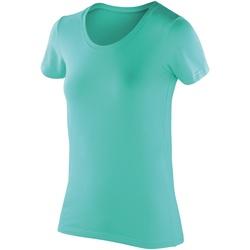 Vêtements Femme T-shirts manches courtes Spiro Softex Menthe poivrée