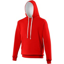 Vêtements Sweats Awdis Hooded Rouge vif / blanc