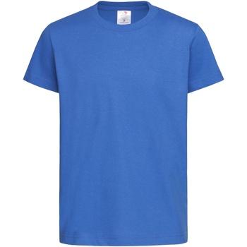Vêtements Enfant T-shirts manches courtes Stedman Organic Bleu