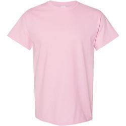 Vêtements Homme T-shirts manches courtes Gildan Heavy Rose clair