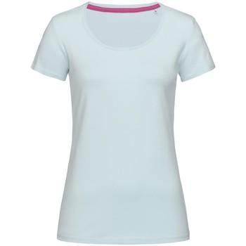 Vêtements Femme T-shirts manches courtes Stedman Stars Claire Gris pâle