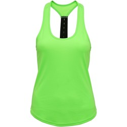 Vêtements Femme Débardeurs / T-shirts sans manche Tridri Performance Vert vif