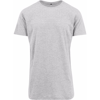 Vêtements Homme T-shirts manches courtes Build Your Brand Shaped Gris