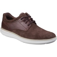 Chaussures Homme Derbies Rockport Pointed Toe Marron