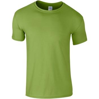 Vêtements Homme T-shirts manches courtes Gildan Soft-Style Vert clair