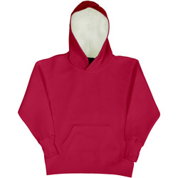 Vêtements Enfant Sweats Sg Contrast Rouge/Blanc