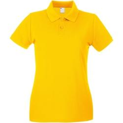 Vêtements Femme Polos manches courtes Universal Textiles Casual Or