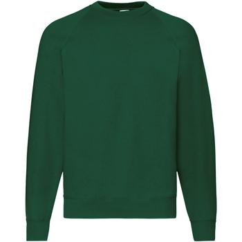 Vêtements Homme Sweats Fruit Of The Loom Raglan Vert foncé