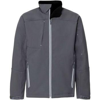 Vêtements Homme Coupes vent Russell Veste en Softshell BIONIC RW6161 Gris