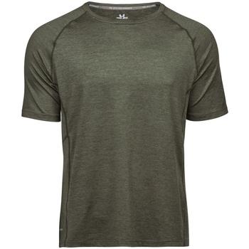 Vêtements Homme Et acceptez notre Polique de Protection des Données Tee Jays TJ7020 Olive chiné